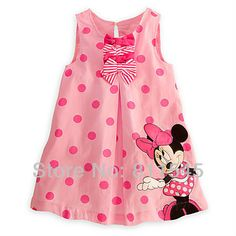 Cheap pink minnie, Buy Quality girls dresses summer 2016 directly from China girls dress Suppliers: Pink Minnie Polka Dot Casual Girls Dresses Summer 2016 Fantasia Vestido Infantil Baby Girl Dress Kids Clothes Children Clothing Girls Casual Dresses, Kids Outfits Girls, Toddler Outfits, Little Girl Dresses, Girl Outfits, Summer Dresses, Cute Toddler Girl Clothes, Toddler Dress, Fashion Kids