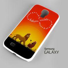 Disney, the lion king hakuna matata Samsung Galaxy S3 S4 S5 Note 3 Cas – firetsy