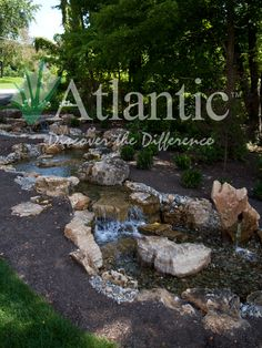 Add the site and sound of water to your backyard landscape this summer with an Atlantic Water Gardens water feature. Visit the photo galleries now for outdoor inspiration for your next project.