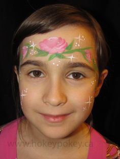 Face Painting Designs  - Princess - Rose
