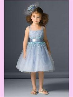 Short Tulle Flower Girl Dress