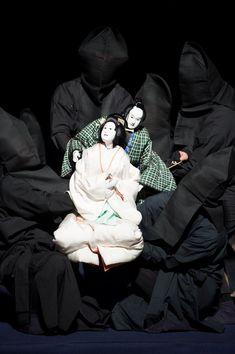 Japanese traditional puppet theater, Bunraku