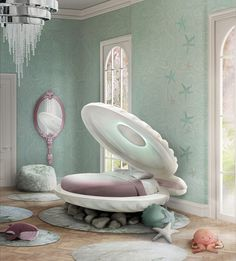 4 Amazing Kids Products That Will Make You Smile   Interior Desire - Clam Shell Bed By Circu.net