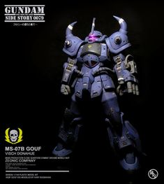 Gouf VD ( Visch Donahue ) Custom by Hary Nugraha Plastic Model Kits, Plastic Models, Body Proportions, Mobile Suit, Figure It Out, Gundam, Artwork, Fictional Characters, Gunpla Custom