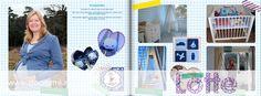 Voorbeeld digitale scrapbook pagina doorlotte.nl
