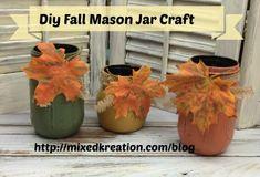 "I added ""Fall Mason Jars"" to an #inlinkz linkup!http://mixedkreations.com/blog/2015/11/fall-mason-jars/"