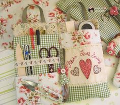 sweet pilukas: Sachet organizer. Sewing Loves Piluka