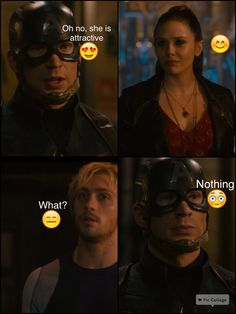 PIETRO: That's my SISTER YOU...kind...sensitive...honorable man...oh what the heck, you can have her! I ship you guys.
