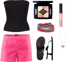 I like it simple, created by shantastic72 on Polyvore