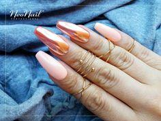 Efekt lustra na paznokciach hybrydowych / NeoNail