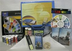 Complete Water Miscible Oil Painting Kit from Jerry Yarnell. At a price of $350, this kit offers the finest of art instructions and equipment plus two original Paint This with Jerry Yarnell™ DVDs.