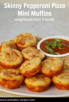 On the lookout for easy Weight Watchers friendly game day snacks? You may want to whip up a batch of these cute little pepperoni pizza mini muffins. I made them for the first time back in the late 1980s. The…