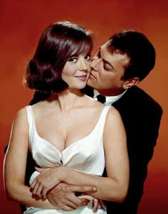 Natalie Wood and Tony Curtis, SEX AND THE SINGLE GIRL (1964).