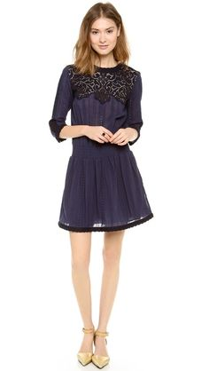Lace & Eyelet Long Sleeve Dress  http://rstyle.me/n/d8r9dpdpe