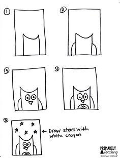How to Draw a Monkey Instructions Sheet (SB12312