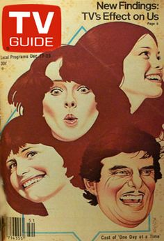 TV Guide Covers 1970s | One Day At A Time: TV Guide Cover For December 17,1977