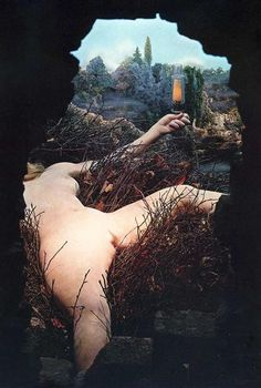 Given: 1. The Waterfall, 2. The Illuminating Gas, 1945-1966 - Marcel Duchamp. Titulo original: Étant donnés: 1° la chute d'eau, 2° le gaz d'éclairage . . .. Arte conceptual. Surrealismo