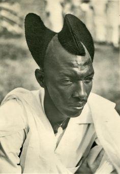 Tutsi chief in Rwanda | photographer unknown
