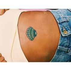 """Seashell for jesica's first tattoo! """