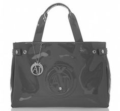 Your kind of armani bags at the best rates armani bags armani jeans patent grey tote bag - house of fraser HUYBVND Handbags On Sale, Luxury Handbags, Designer Handbags, Marken Outlet, Grey Tote Bags, Evening Bags, Calves, Diaper Bag, Style
