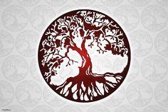 Tree Of Life Tattoo Designs Trendy Tattoos, New Tattoos, Body Art Tattoos, Tattoos For Guys, Sleeve Tattoos, Cool Tattoos, Tatoos, Mandalas Painting, Mandalas Drawing