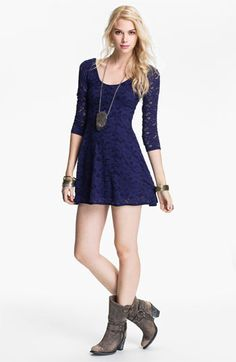 Free People Lace Dress #GossipRI