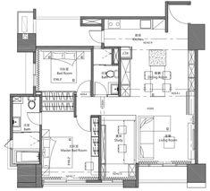 湖水藍的生活空間!新竹 25 坪現代風親子公寓 - DECOmyplace