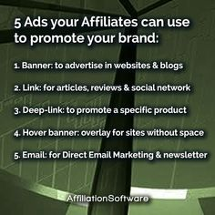 Create your own affiliate network, allow affiliates to promote your products and increase sales with AffiliationSoftware. - - - #affiliatemarketing #digitalmarketing #ecommercebusiness #businessowner #businessowners #onlinemarketing #marketingstrategy #entrepreneurship #entrepreneur #affiliate Affiliate Marketing, Online Marketing, Digital Marketing, Advertising, Ads, E Commerce Business, Increase Sales, Competitor Analysis, Growing Your Business
