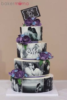 Unique Picturesque Wedding Cake | Colorful Cakes, Themed Cakes, Wedding Cakes | Beautiful Cake Pictures