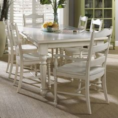 Superieur Summer Home 7 Piece Table And Chair Set By Fine Furniture Design   Alison  Craig Home