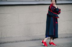 Streetstyle Fashion Week in Moscow