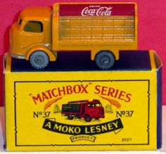 Matchbox cars were introduced by Lesney Products in 1953 and is now owned by Matte. The brand was so named as the original die-cast Matchbox toys were sold in boxes similar in style and size to those in which matches were sold. Imagine if you still had some of your 1950s Matchbox cars!!! Bet they're worth something!