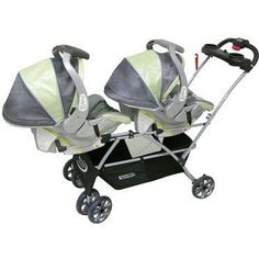 13 Essentials for Surviving the First Year with Twins: Double Stroller(s)