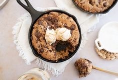 Date Night at Home Isn't Complete Without This Chocolate Peanut Butter Skillet Cookie Cookie Recipes, Snack Recipes, Dessert Recipes, Desserts, Caramel Apple Cheesecake, Caramel Apples, Chocolate Peanuts, Chocolate Peanut Butter, Skillet Cookie