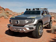 Mercedes Ener-G-Force.    Electric with hydrogen or battery packs, pretty cool!