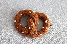 Ravelry: Pretzel & Soda Play Food pattern by Doris Yu Kawaii Crochet, Crochet Food, Cute Crochet, Crochet Crafts, Yarn Crafts, Crochet Baby, Crochet Projects, Food Patterns, Play Food