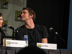 Lee Pace. Pushing Daisies comic con