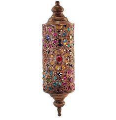 Lámpara tubo colgante estilo árabe #decoracion #interiorismo #lamparas