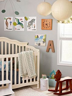 A new nursery is a blank canvas just waiting for a splash of color: http://www.bhg.com/rooms/nursery/nursery-colors/?socsrc=bhgpin040514nurserycolors