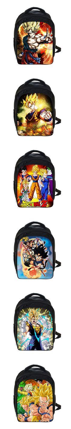 Kids Anime Dragon Ball Z Backpack Sun Goku Children School Bags Boys Girls Daily Backpacks Students Bag Schoolbags Gift Backpack