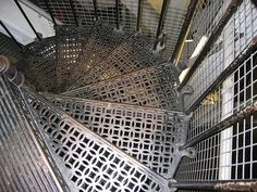 Stairs to the top of the dome, St Paul's Cathedral, London