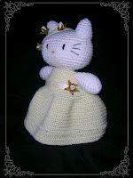 Amigurumi Hello Kitty Comunión.