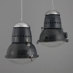 Hungarian Industrial Ceiling Lamp, 1950s 7