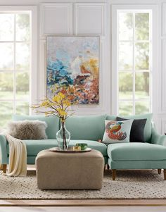 Designed with smaller spaces in mind, our Rockford Seating Collection strikes the perfect balance between classic and casual. The slim flared arms create a crisp, tailored look that's irresistibly inviting. Kiln-dried hardwood frame is paired with a sinuous spring suspension for extra durability and topped with high-density foam cushions.