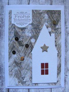 Weihnachten - Weihnachtskarte - ein Designerstück von Inifee bei DaWanda