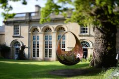 Swing at The Royal Crescent Hotel & Spa in Beautiful Bath - Myburgh Designs Luxury Spa Hotels, Georgian Townhouse, Swing Design, Jurassic Coast, Fine Hotels, Hotel Spa, Modern Luxury, Garden Inspiration