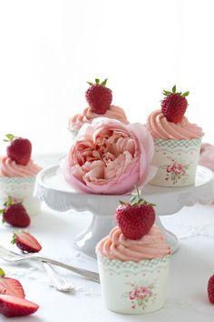 Erdbeer Joghurt Cucpakes