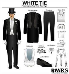 White tie - čo si obliecť