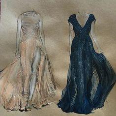 Double trouble #elie #Saab #fashionart By @3alya_ _