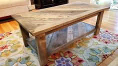 Pallet Coffee Table 1